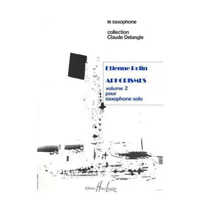 Aphorismes II (A à I)
