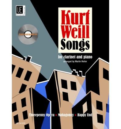 Kurt Weill: Songs ( Martin Reiter )