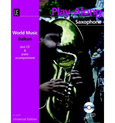 Balkan Play-Along Saxophone