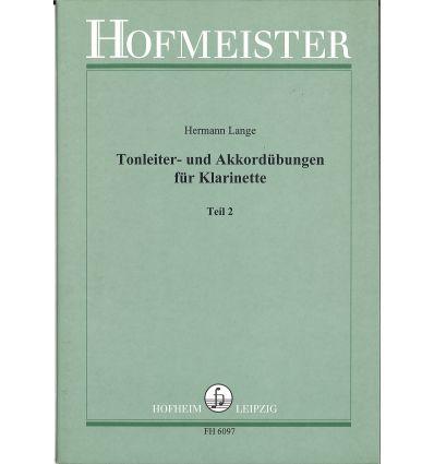 Tonleiter und Akkordübungen Heft 2