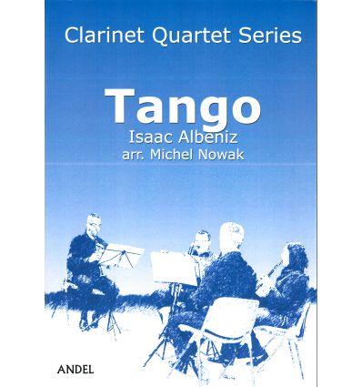 Tango, arr. pour quatuor de clarinettes (3 sib et ...
