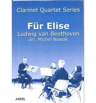 Für Elise (4 clarinettes : 3 sib et basse) Difficu...
