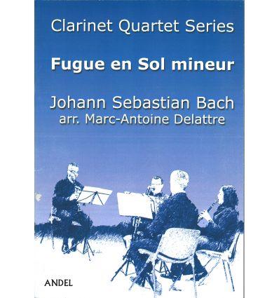 Fugue en Sol mineur, arr. quatuor de clarinettes (...