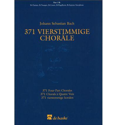 371 Chorals à 4 voix, partie 1 Sib (cl, sax sop, t...