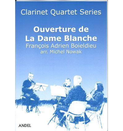 Ouverture de la Dame Blanche (4 clarinettes : 3 si...