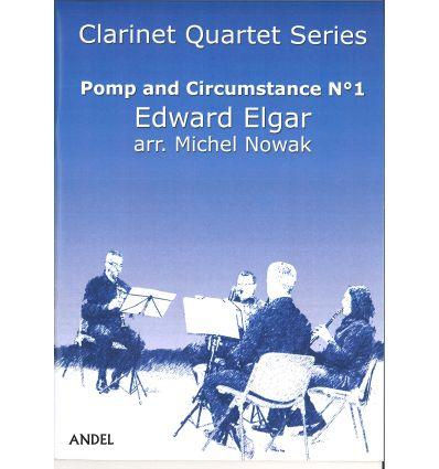 Pomp and Circumstance N°1 (4 clarinettes : 3 sib e...