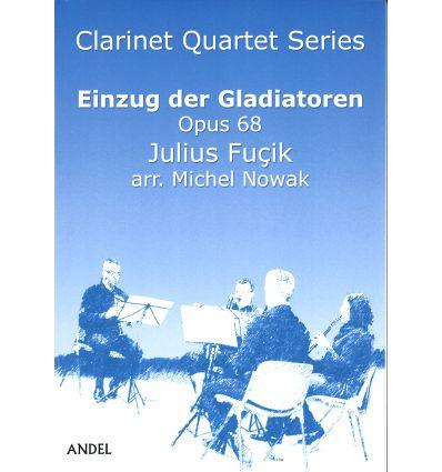 Einzug der Gladiatoren op.68, arr. quatuor de clma...