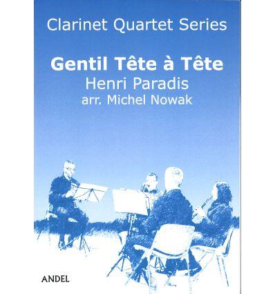 Gentil Tête à Tête, arr. quatuor de clarinettes (3...
