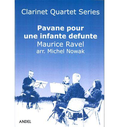 Pavane pour une infante défunte (4 clarinettes : 3...