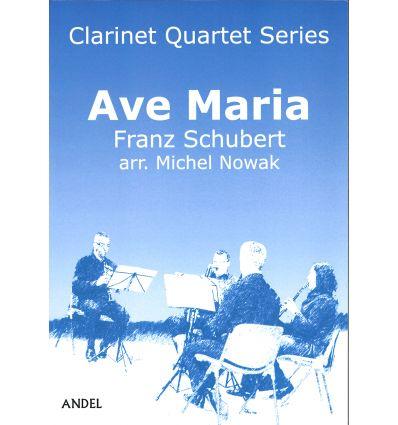 Ave Maria, arr. quatuor de clarinettes (3 sib et b...