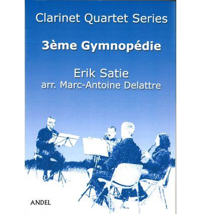 3ème Gymnopédie, arr. quatuor de clarinettes (3 si...