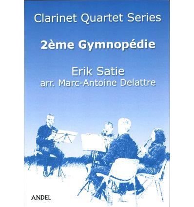 2ème Gymnopédie, arr. quatuor de clarinettes (3 si...