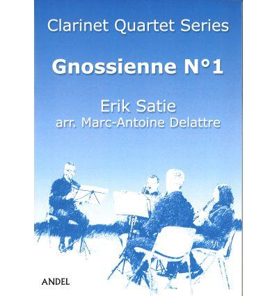 Gnossienne N°1, arr. quatuor de clarinettes (3 sib...
