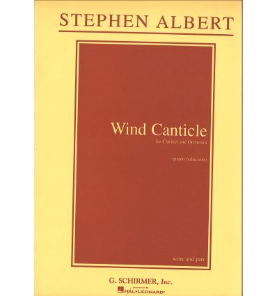 Wind canticle (réd. cl & piano)