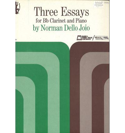 3 Essays (éd. E.B. Marks)