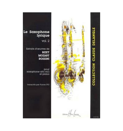 Saxophone Lyrique Vol.2