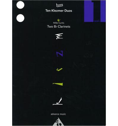 10 klezmer duos (2 cl) Vol.1 (6 airs trad. + 4 air...
