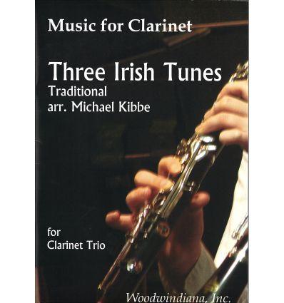 3 Irish Tunes (3 Bb clarinets, 2006)