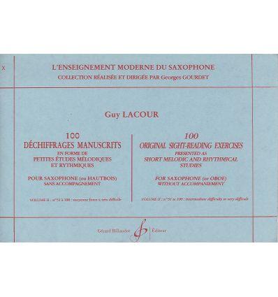 100 Déchiffrages manuscrits vol.2 : 51-100 (moyenn...
