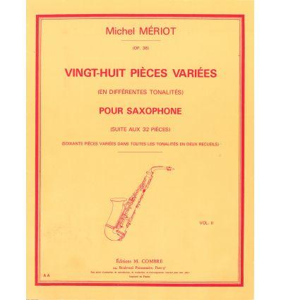Pièces variées (28) en différentes tonalités Vol.2