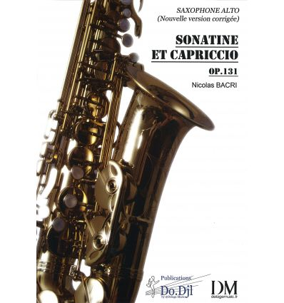 Sonatine et Capriccio (version sax alto seul). Cap...