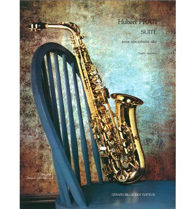 Suite pour sax alto (degré supérieur)