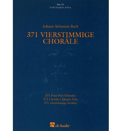 371 Chorals à 4 voix, partie 2, Eb (sax alto,...) ...