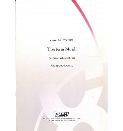 Troster in LMusik (4 saxophones identiques) Niveau...