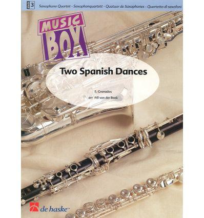 2 Spanish Dances (4 sax SATB)