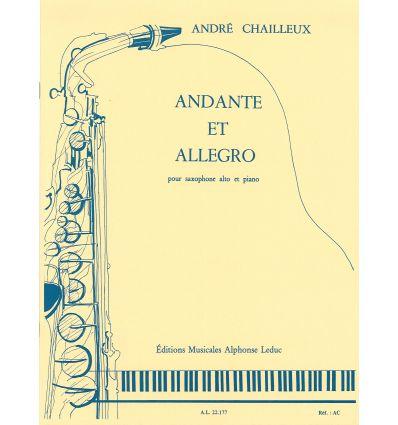 Andante et allegro (sax alto & piano) CMF 2017