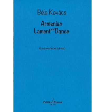 Armenian Lament and Dance (sax alto & piano)