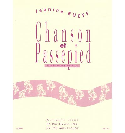 Chanson et passepied (sax alto & pno) Concours Pic...