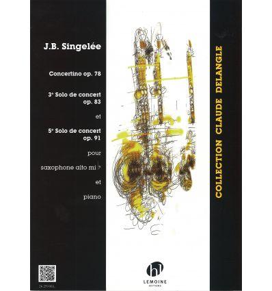 3e et 5e Solos de concert / Concertino Op.78