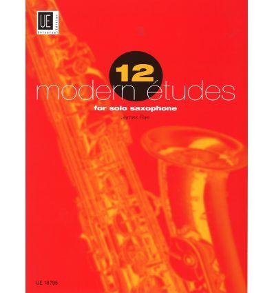 12 Modern Etudes (advanced) contemp., jazz, rock, ...