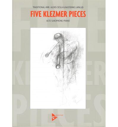 5 Klezmer Pieces (arr. sax & piano) Odessa Bulgar,...