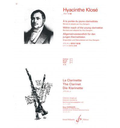 A La Portee Du Jeune Clarinettiste Volume 1