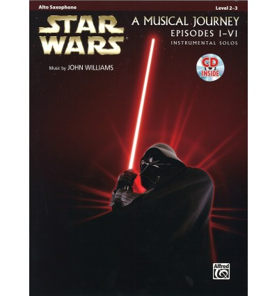 Star Wars a musical journey Episodes I-IV instrumental solos + CD music by John Williams