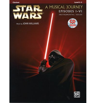 Star Wars a musical journey (episodes I-IV) + CD music by John Williams