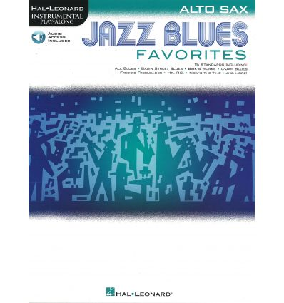 Jazz blues favorites.15 standards: All blues, Basin street ...