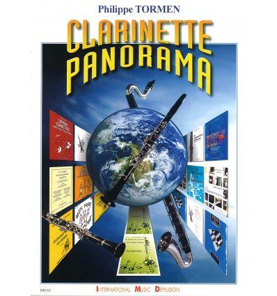 Clarinette panorama (rép. commenté méthodes,études...