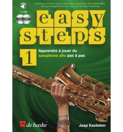 Easy Steps méthode de saxophone vol.1 + 2CD et code accès en...