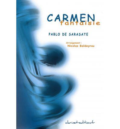 Carmen Fantaisie (clar. et piano) sur des motifs d...