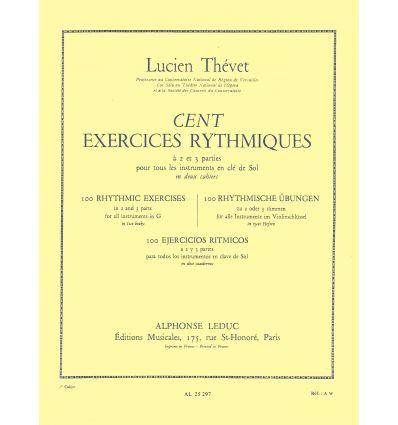 100 Exercices rythmiques (Instr. En Clé de sol).Ca...