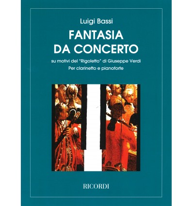 Rigoletto, fantasia da concerto (rev. Bassi / Giam...