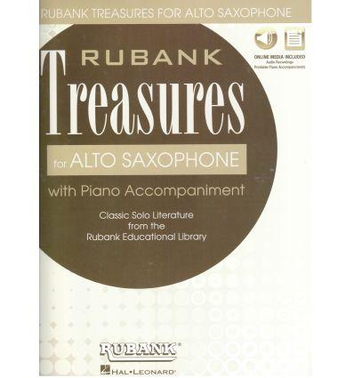 Rubank Treasures for Alto Saxophone