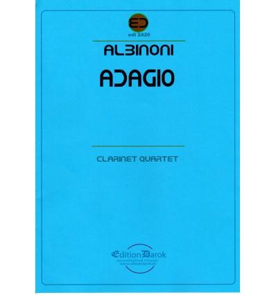 Adagio (4 cl sssb: 3 sib & basse) ed. Darok XC