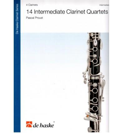 14 Intermediate Clarinet Quartets (4th-5th Year) 2017