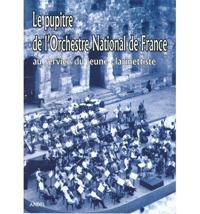Le Pupitre de l'orchestre National
