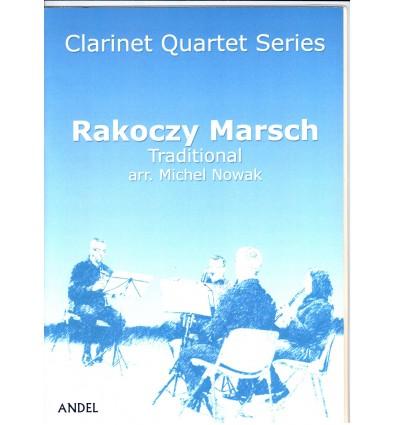 Rakoczy Marsch, traditionnel hongrois arr. 4 clari...