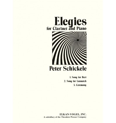 Three Elegies for clarinet & piano